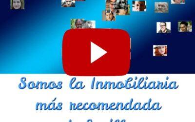 Alcanzamos las 650 reseñas en Google !!! Somos la Agencia Inmobiliaria mejor valorada y más recomendada de Sevilla.